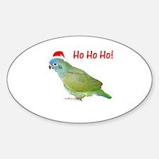 Ho Ho Ho (pionus) Oval Decal