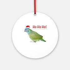 Ho Ho Ho (pionus) Ornament (Round)