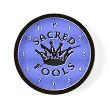 Sacred Fools Wall Clock
