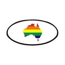 Aussie Pride Rainbow Australia Patches