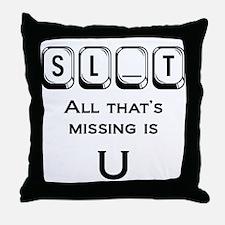 SL_T Throw Pillow