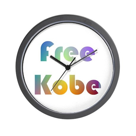 Free Kobe Wall Clock