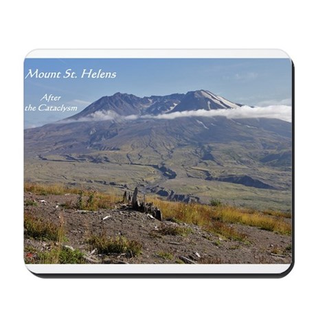 Mount St Helens: After the Cataclysm Mousepad