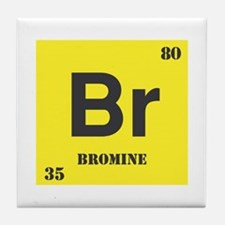 Bromine Element Tile Coaster