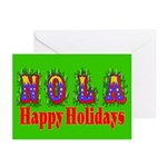 Nola Hollidays Greeting Cards (Pk of 10)