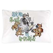 GOAT Ask Me About my Grandkids Pillow Case