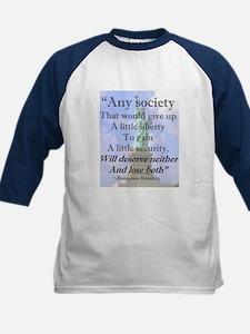 """""""Any Society..."""" Kids Baseball Jersey"""