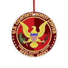 Counter Terrorism - Ornament (Round)
