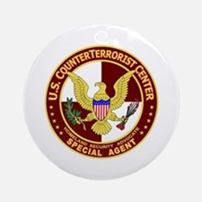 U.S. CounterTerrorist Center Ornament (Round)