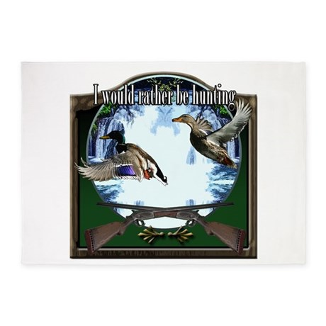 Duck hunter 5'x7'Area Rug