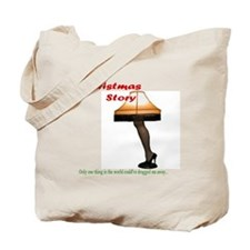 Christmas Story Electric Leg Lamp Tote Bag