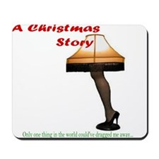 Christmas Story Electric Leg Lamp Mousepad