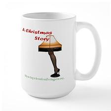 Christmas Story Electric Leg Lamp Mug