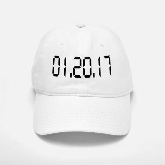 01.20.17 White Baseball Baseball Cap