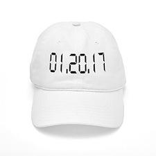 01.20.17 White Baseball Cap