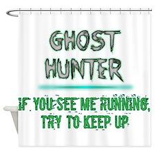 Ghost Hunter Shower Curtain