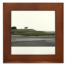 Morris Island Beach, Chatham MA Framed Tile