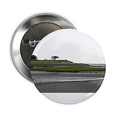"""Morris Island Beach, Chatham MA 2.25"""" Button"""