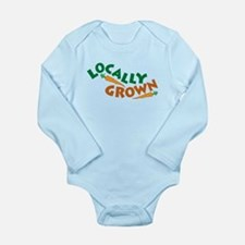 Locally Grown Long Sleeve Infant Bodysuit