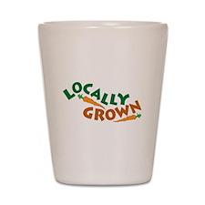 Locally Grown Shot Glass