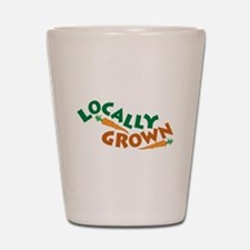 Locally Grown Shot Glass