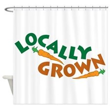 Locally Grown Shower Curtain