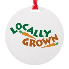 Locally Grown Ornament