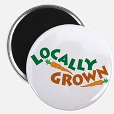 """Locally Grown 2.25"""" Magnet (100 pack)"""