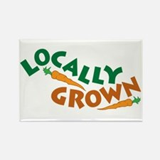 Locally Grown Rectangle Magnet (10 pack)