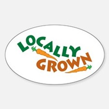 Locally Grown Decal
