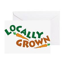 Locally Grown Greeting Card