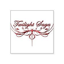 "Twilight Saga Square Sticker 3"" x 3"""