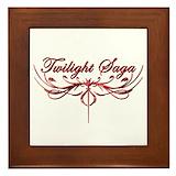 Twilight saga Framed Tiles