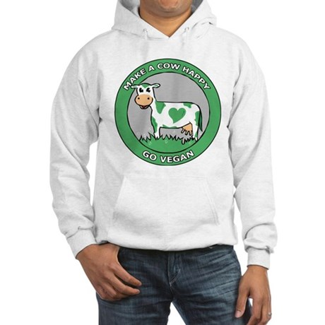 Go Vegan Hooded Sweatshirt