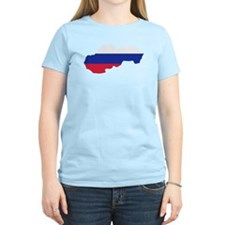 Slovakia map flag T-Shirt