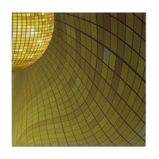 Disco Mirror Ball Tile Coaster