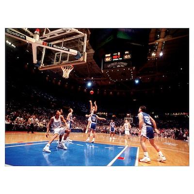 The Shot: Duke versus Kentucky 1992 Poster