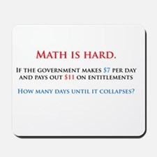 Math is hard. Mousepad