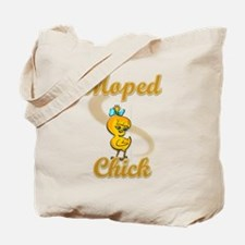 Moped Chick #2 Tote Bag