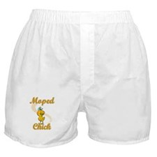 Moped Chick #2 Boxer Shorts