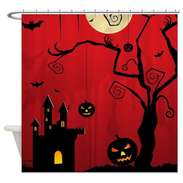 Halloween Shower Curtain By Halloweentreats