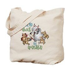 GOAT Ask Me About my Grandkids Tote Bag