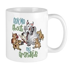 GOAT Ask Me About my Grandkids Mug