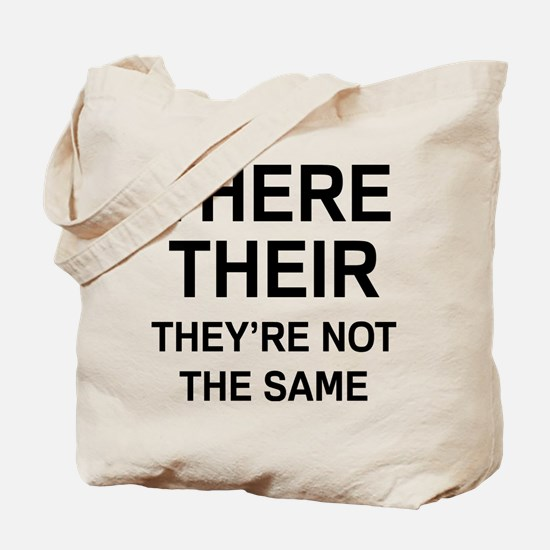 There Their Tote Bag