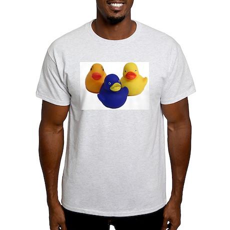 Three Ducks! Ash Grey T-Shirt