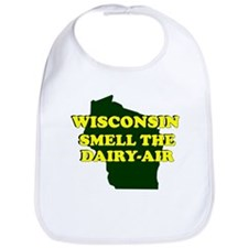 WISCONSIN SMELL THE DAIRY AIR Bib