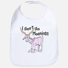 Funny Morning Goat Bib