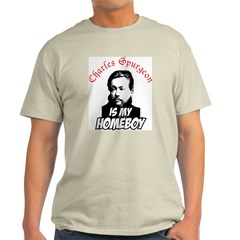 Spurgeon Ash Grey T-Shirt