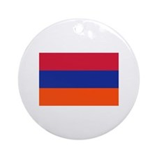 Armenia flag Ornament (Round)