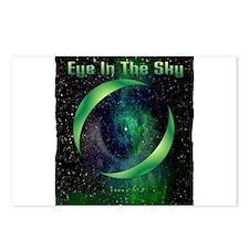 eye in the sky art illustration Postcards (Package